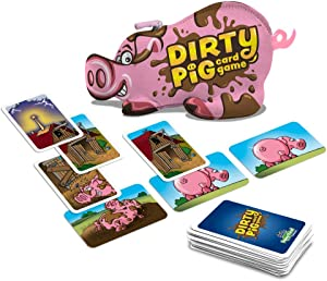 North Star Games Dirty Pig Card Game   Be The First to Dirty All Your Pigs!