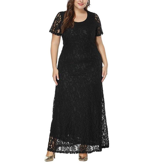 ... Largos POLP Talla Grande Vestido de Noche Invierno Vestido de Novia para Boda Mujer Gorda Mini Faldas Mujer Sexy XXL-8XL: Amazon.es: Ropa y accesorios