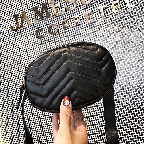 Sac Poitrine Sac Lady Vague Match Pack Bandoulière Populaire Sac Taille Trendy À Bandoulière Élégant Mode Motif Erduo All Style À Femme Fille TInBWSB