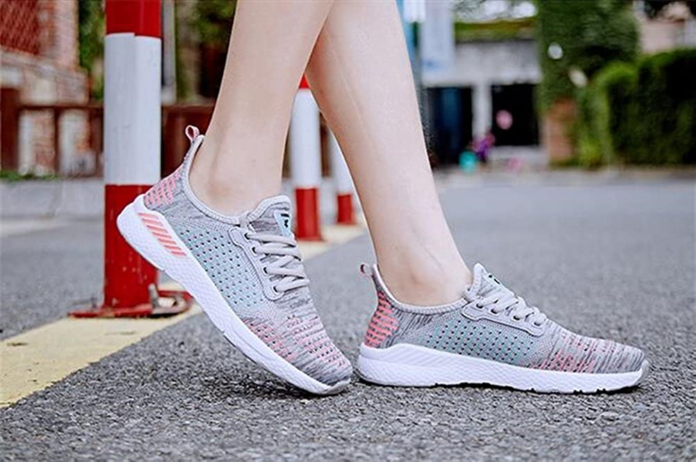 Color : C, Size : 40 Shopping Exing Womenss Shoes 2018 Fall Winter New Casual Shoes.Lovers Breathable Knit Sneakers,for Walking
