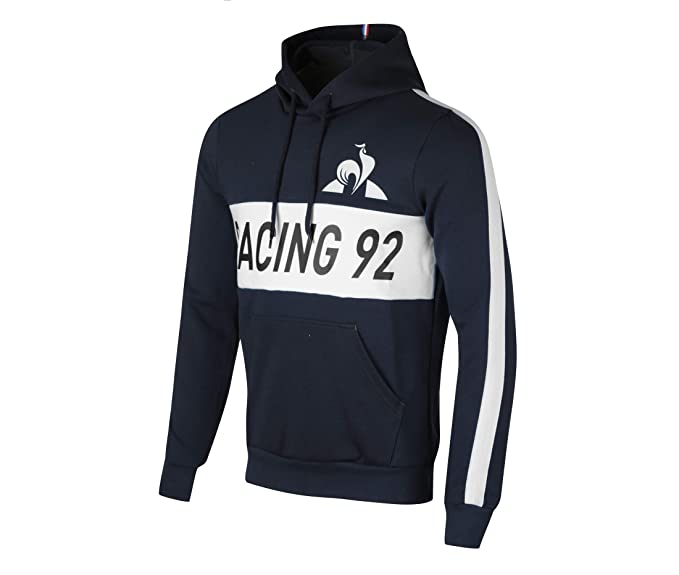 Le Coq Sportif Sudadera Capucha Racing 92 Sky Captain (L)
