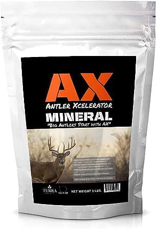 Terra Products Co. AX Deer Mineral - Antler Xcelerator for Deer