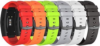 Amazon.com: NotoCity Compatible Samsung Gear Fit2 Pro Band ...