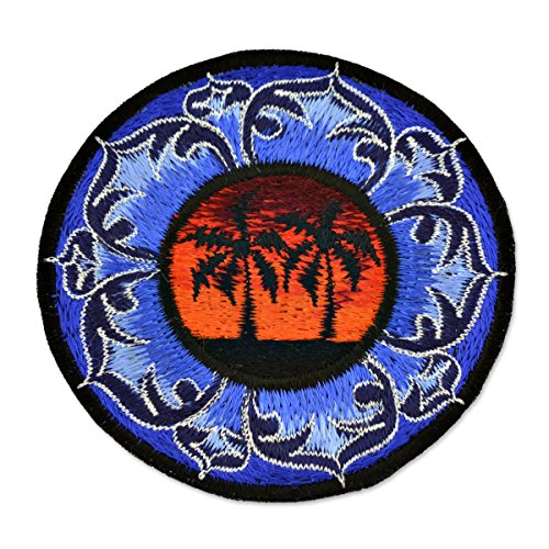 Palm Tree Embroidered Patch - 3.75