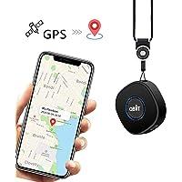 Mini Localizador GPS con Aplicación Gratuita para Android iOS/Rastreo GPS en Tiempo Real/Geo-Cerca/Alarmas SOS…