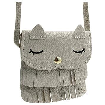 Encantadoras bolsas de hombro Bolso lindo de las muchachas del color del caramelo del gato del ...