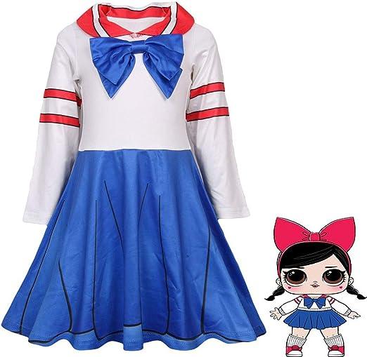 QYS Chicas Niños LOL Muñeca Sorpresa Princesa Disfraces Disfraces ...