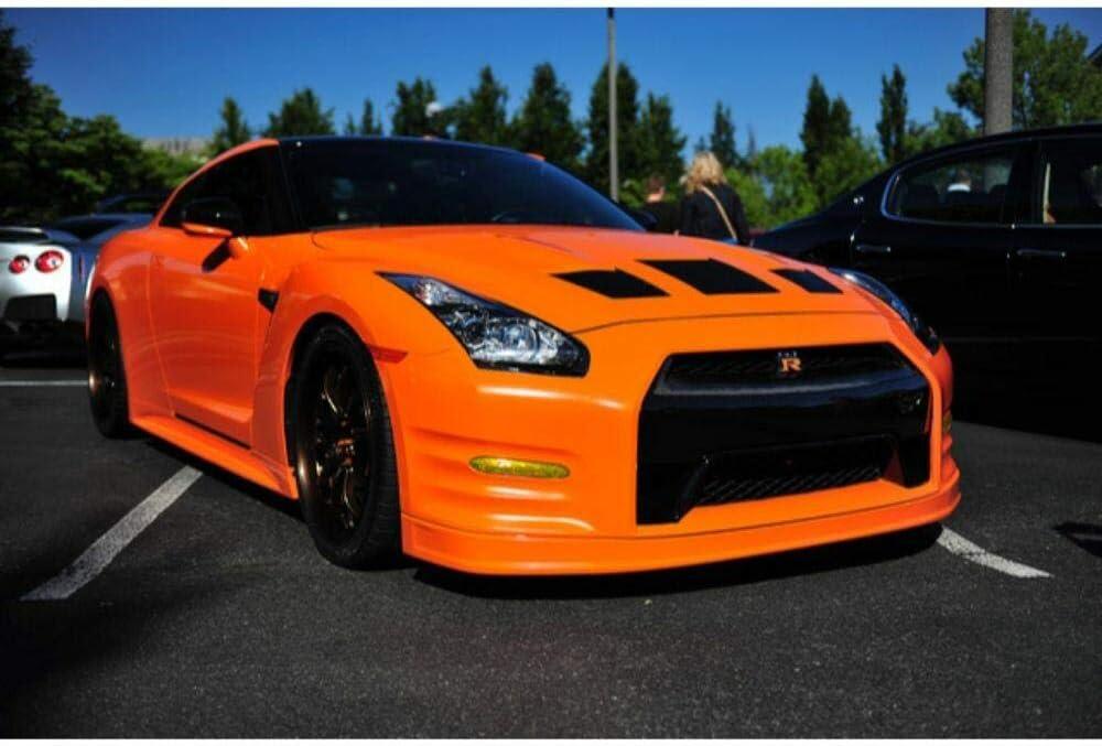 Sample Size 3M 2080 G14 Gloss Burnt Orange 3in x 5in Car Wrap Vinyl Film