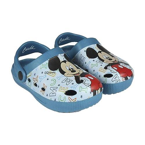 on sale d86b2 0946b takestop® Ciabatte Crocs Pantofole Mare Gomma Antiscivolo Topolino Mickey  Mouse Cartone Animato Disney Piscina Mare Bambino Bambina Unisex