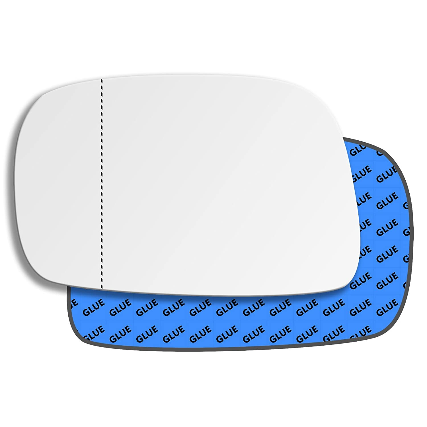 Hightecpl 136LAS Left Hand Passenger Near Side Wide Angle Door Wing Mirror Glass Replacement Channel Autoparts Limited