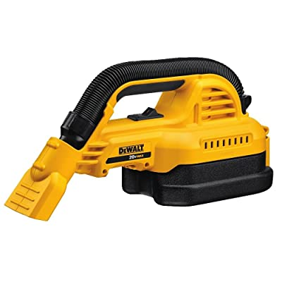 DEWALT 20V MAX Cordless Vacuum Kit, Wet/Dry, Portable, 1/2-Gallon, Tool Only (DCV517B)