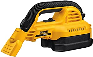 DEWALT 20V MAX Cordless Vacuum, Wet/Dry, Portable, 1/2-Gallon, Tool Only (DCV517B)
