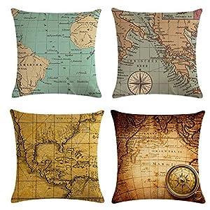 61qdJgiUEWL._SS300_ 100+ Nautical Pillows & Nautical Pillow Covers