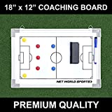 Soccer Tactics/Coaching Board 18in x 12in [45cm x 30cm] - [Net World Sports]