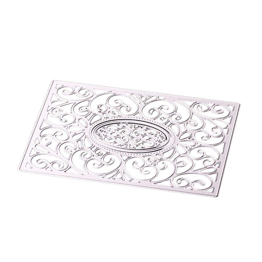 lace flower metal cutting dies stencil scrapbook album paper embossing craft FBB