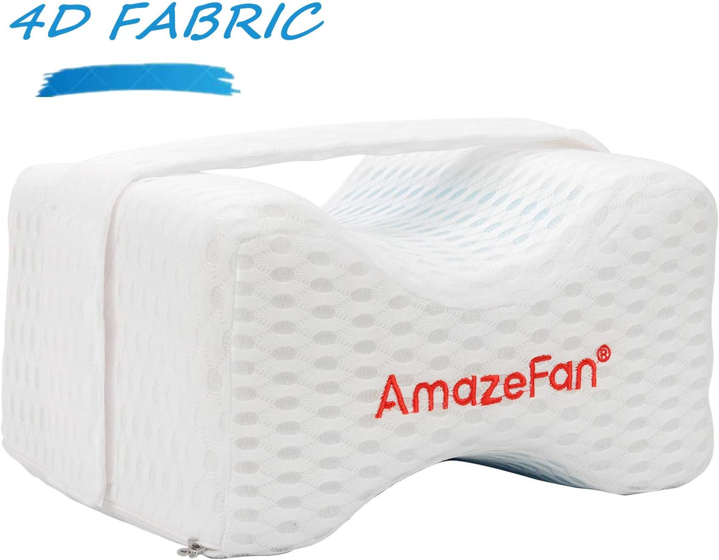 2019 Memory Foam Leg Pillow Cushion Knee Support Pain Relief Washable Cover DD