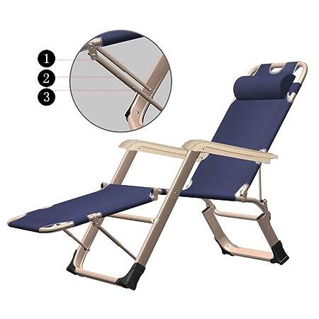 Amazon.com: colortree ajustable chaise lounge silla sillón ...
