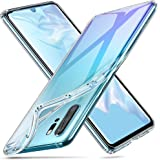 ESR Essential Air, Slim Clear Soft TPU Case Compatible with Huawei P30 Pro, Soft Flexible Silicone Cover - Jelly Clear