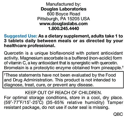 Douglas Laboratories ® Quercetin Bromelain Complex 100 Tabs