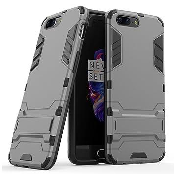 Funda para OnePlus 5 (5,5 Pulgadas) Híbrida Rugged Armor Case ...