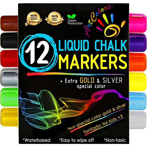 Chalk Markers - Mega 12 Pack - Premium L - Ivory Chalk Shopping Results