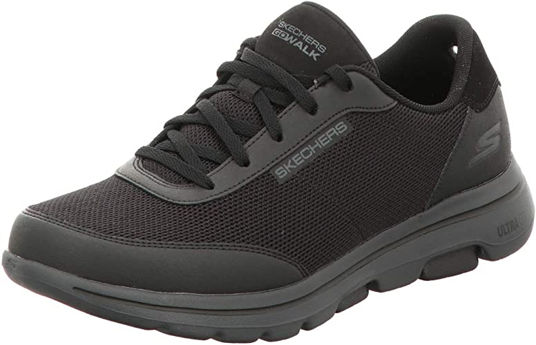 Gowalk 5 Forging-Textured Knit Lace Up