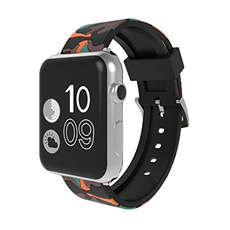 Jewby - Carcasa de silicona para Apple Watch/iWatch Series 1 ...