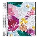 Erin Condren 12 month 2017 Life Planner - Watercolor Floral Horizontal Neutral, Neutral Interior (AMA-12M 2017 34)