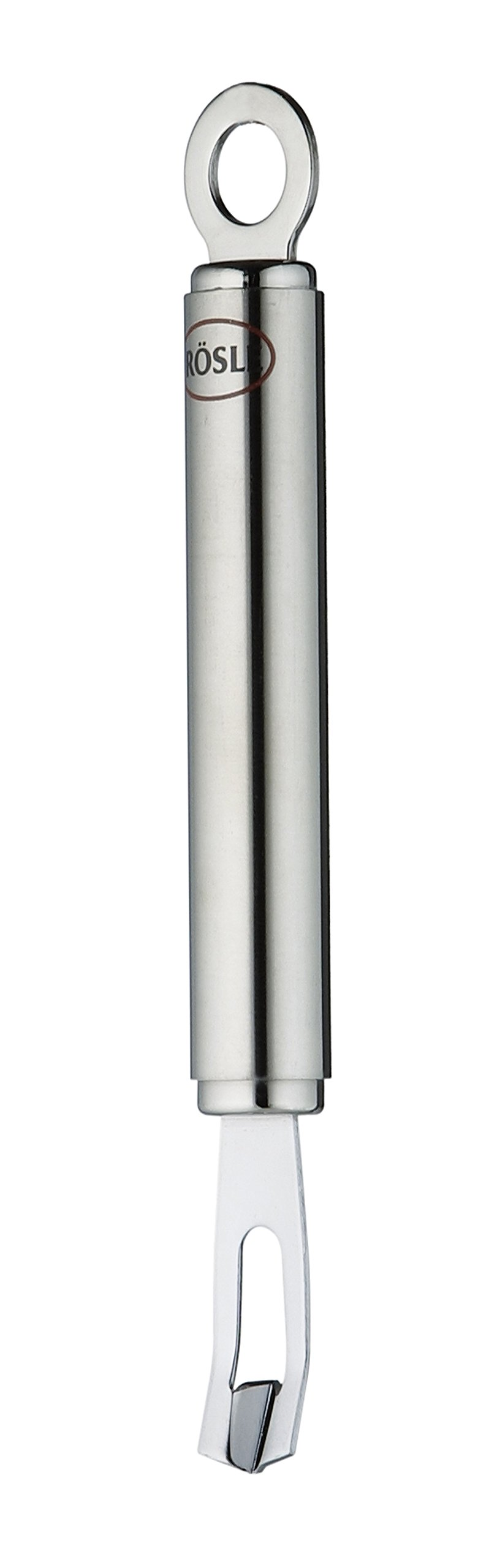 Rösle Stainless Steel Round-Handle Vertical Canelle