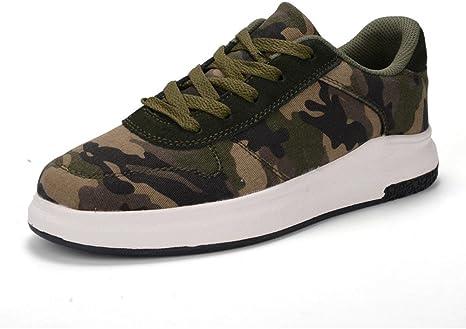 Zapatillas de deporte de mujer Zapatillas de skate verde militar Zapatillas deportivas Zapatos de senderismo Otoño primavera . army green . 37: Amazon.es: Deportes y aire libre