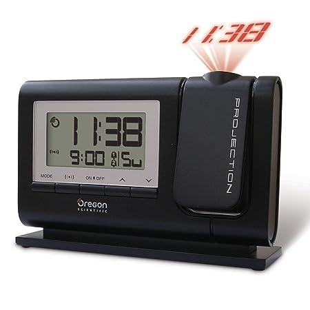 oregon scientific classic projection alarm clock black amazon co rh amazon co uk