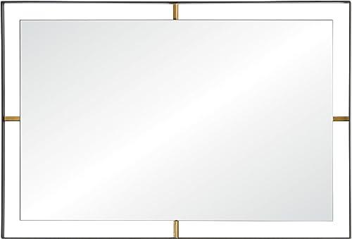 Rogue D cor 610030 Framed 20 x 30″ Rectangular Wall Mirror