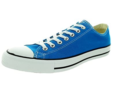 e81189f7b2bf9a Converse Unisex Chuck Taylor All Star Ox Low Top Classic Cyan Space Sneakers  - 6 B