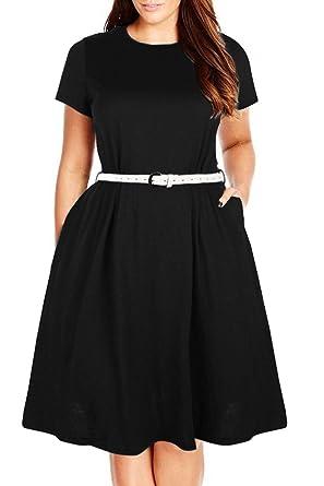 Plus Size Simple Dress