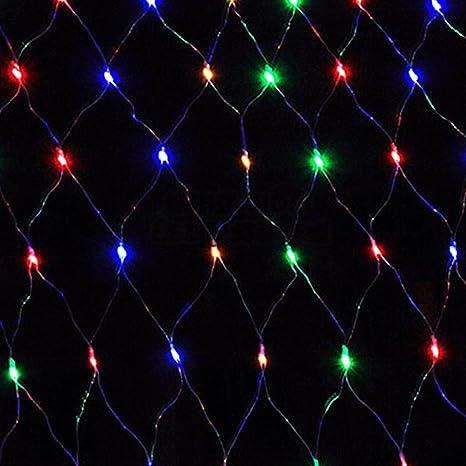 Red con luces LED HJ® para fiestas, Navidad, jardín, Halloween