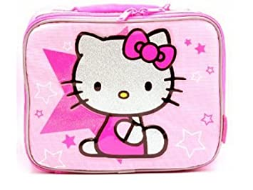 6ae5166fc82e Amazon.com  Hello Kitty Lunch Bag - Style 6676  Lunch Boxes  Kitchen    Dining