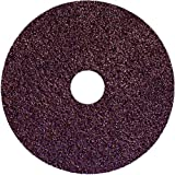 4-1/2 × 7/8 - 80G Grit - Aluminum Oxide - Resin Fiber Disc (Pack of 100)