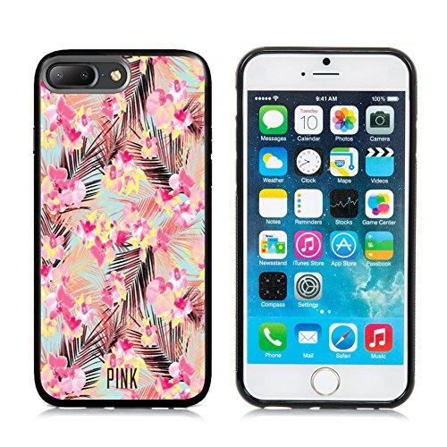 Apple 7 Plus iPhone 7 Plus Case,DOO UC (TM) TPU 3D pattern Case for iPhone 7 Plus Black case Vivid Flower Printed pattern - Vivid Pattern