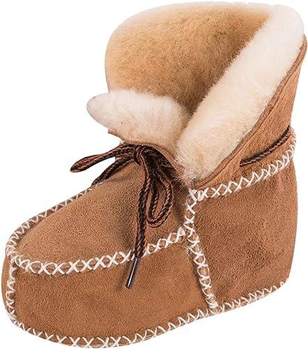 Unisex Baby Krippe Schuhe Schnürsenkel weiche Sohle Komfort Prewalker Schuhe s