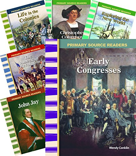 Early American History 8-Book Set (Social Studies Readers) by Shell Education