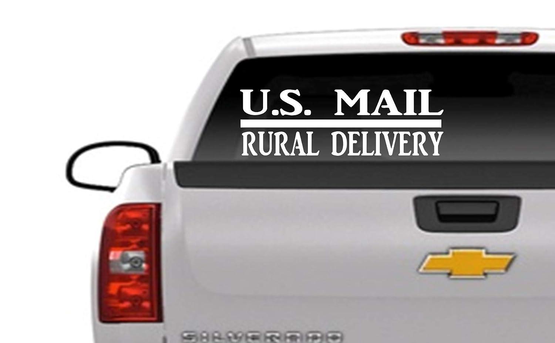 Rural Delivery Car Window Decal 18 Window Sticker HM1774 Thatlilcabin U.S Mail
