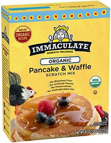Baking Mixes: Immaculate Organic Pancake & Waffle Mix