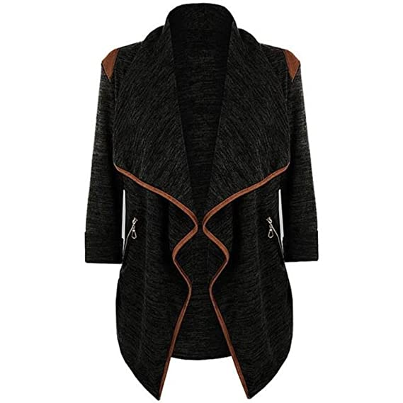 Feitong Brand Winter Coat - Vintage Knitted Long Cardigan at Amazon Womens Clothing store: