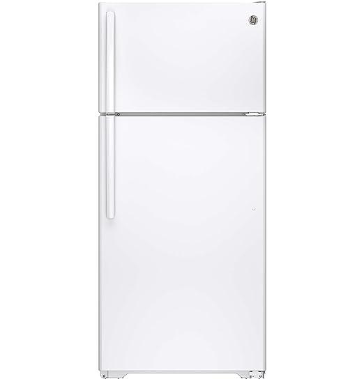 Amazon.com: nevera Congelador superior GE gte16gthww 15,5 CU ...