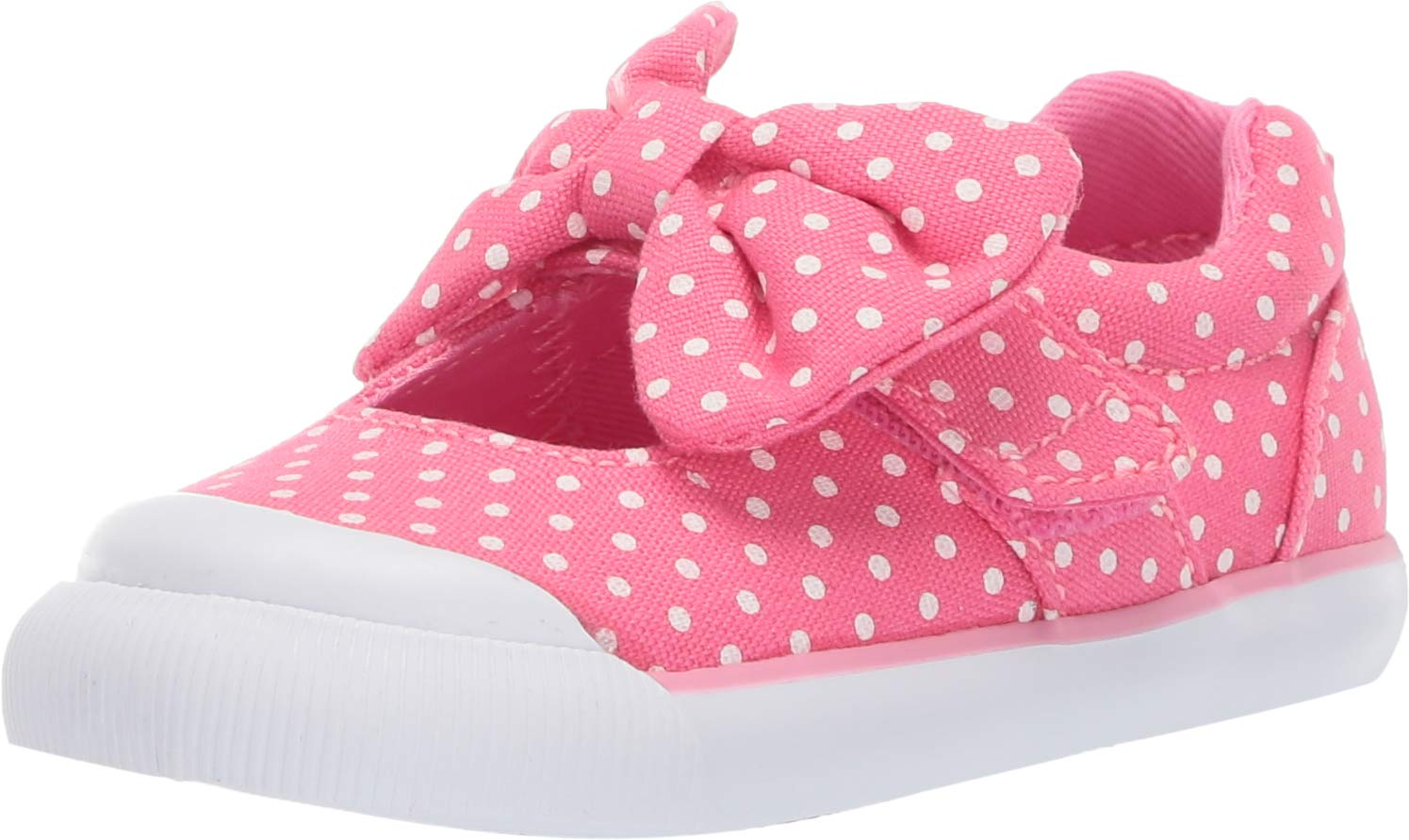 Stride Rite Rosalie Girl's Casual Sneaker, Pink, 7 M US Toddler by Stride Rite