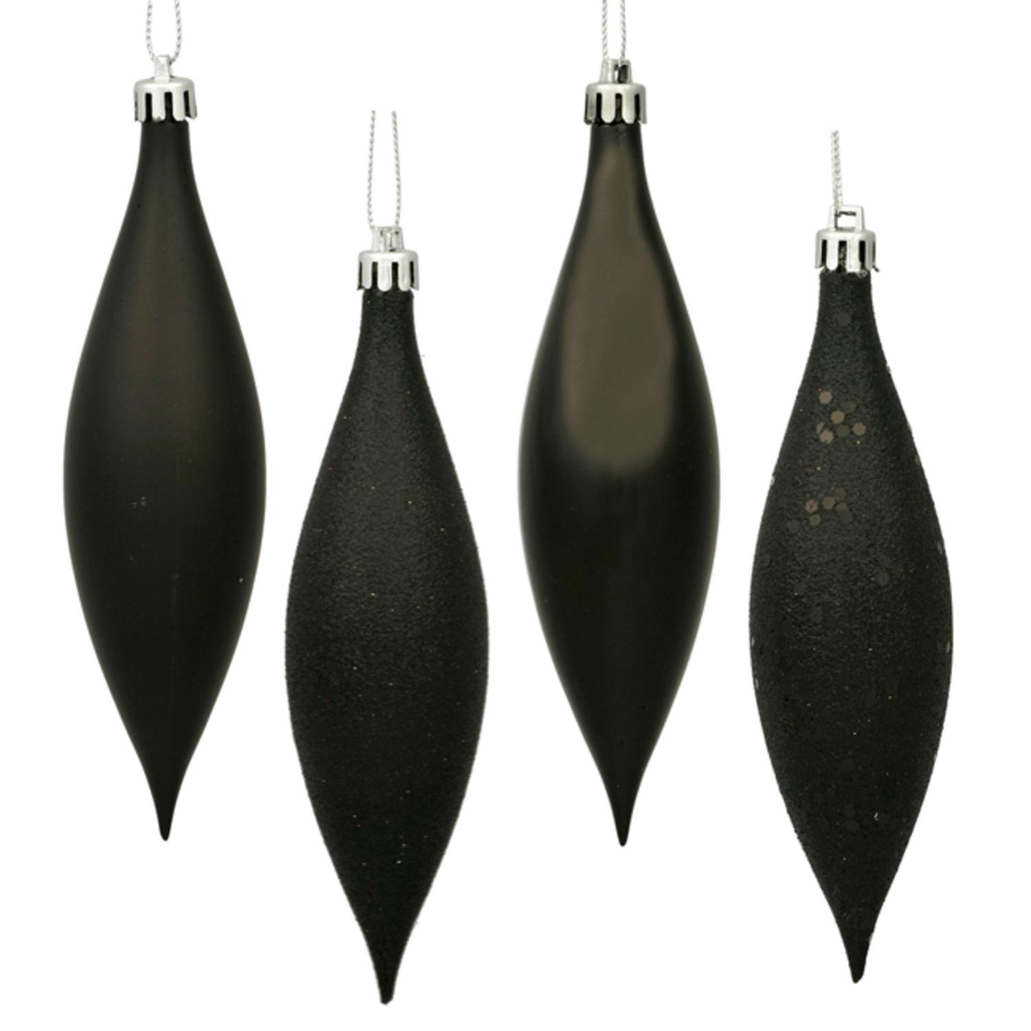 amazoncom vickerman 4 finish black drop 55 inch set 8 home kitchen