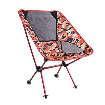 ZMCKD Silla Plegable de Camping Silla Plegable de Camping ...