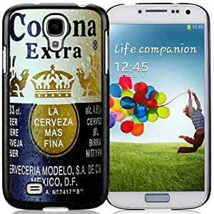 High Quality Samsung Galaxy S4 I9500 Case ,Corona Extra Samsung Galaxy S4 Cover Unique And Fashion Designed Phone Case