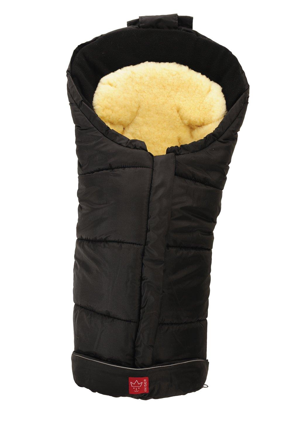 Kaiser Sheepy/ gris melange, 65711324 /Saco de abrigo multifunci/ón dise/ño con incrustaciones de cordero