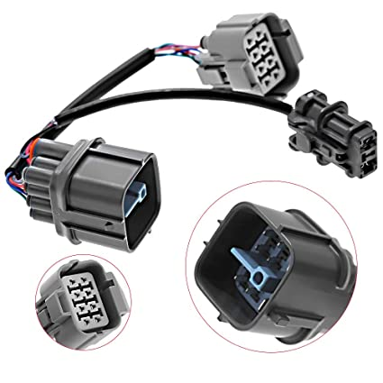 Amazon com: Engine Harness 10 Pin OBD2 TO OBD1 Distributor Jumper